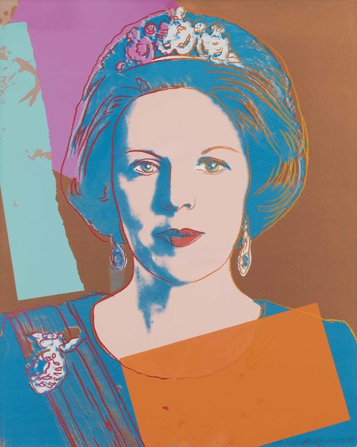 Andy Warhol, 'Queen Beatrix of the Netherlands, from Reigning Queens (Royal Edition)', 1985, Christie's