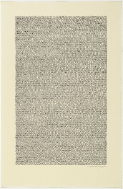 Jan Schoonhoven, 'T 70-40', 1970, Koller Auctions