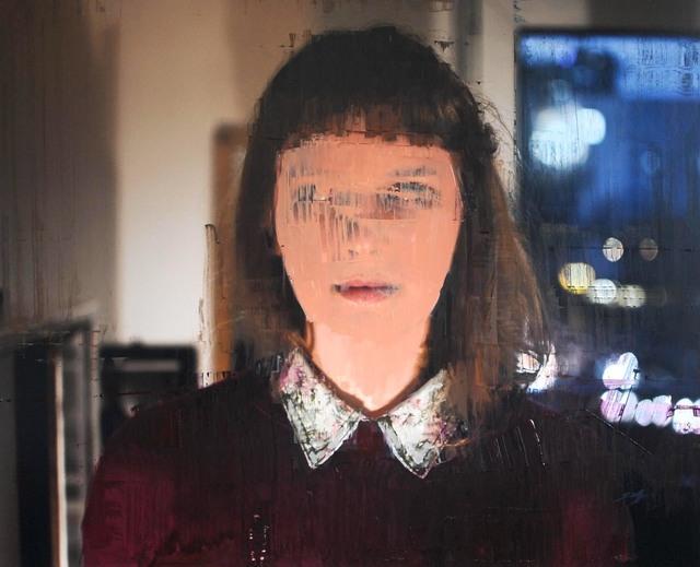 , 'Portrait,' 2018, Galerie Bertrand Gillig
