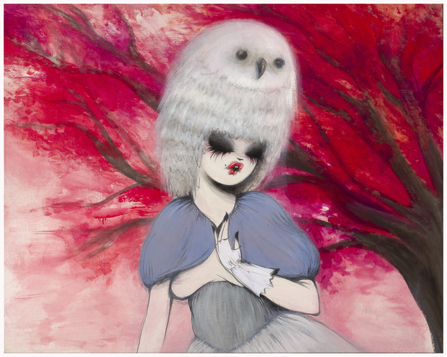 , 'Untitled ( girl with owl hat ),' 2007, Der-Horng Art Gallery