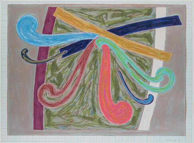 Frank Stella, 'Puerto Rican Blue Pigeon (from Exotic Bird Series)', 1977, Evelyn Aimis Fine Art