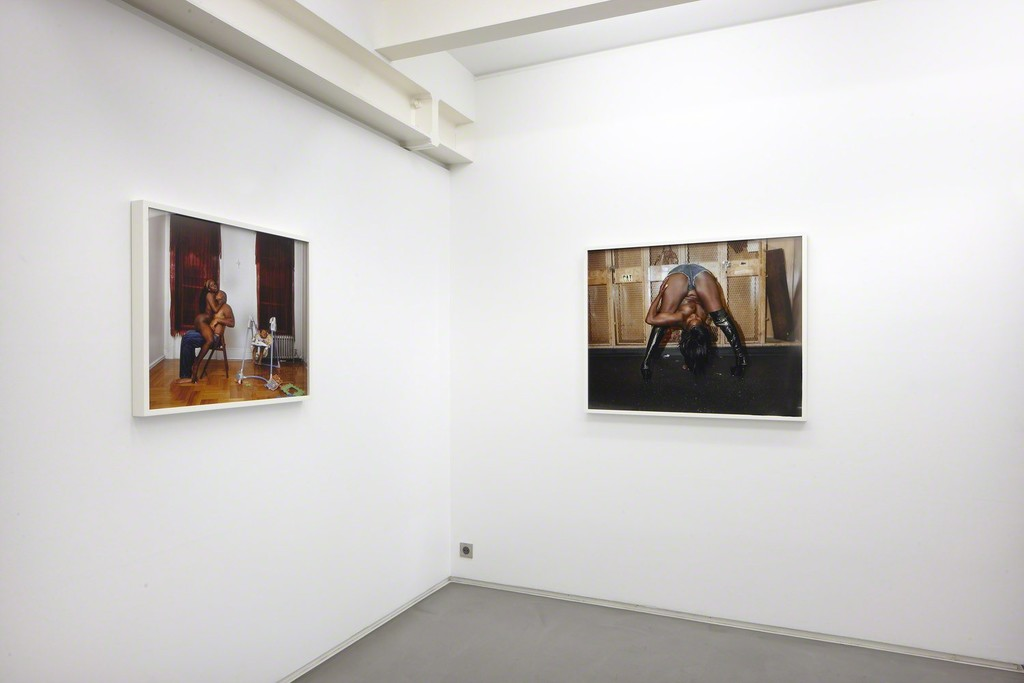 Installation view, 'AestheticSexAmerica' curated by Annka Kultys at Helene Bailly Gallery, Paris 2012