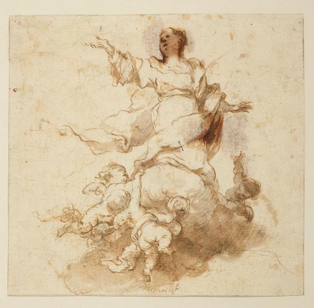 , 'Mariä Himmelfahrt,' 1665-1668, Gemäldegalerie Alte Meister