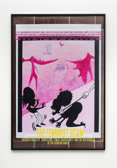 , 'The Feminist Scam,' 2017, PPC Philipp Pflug Contemporary