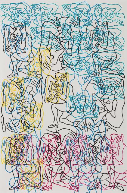 Carlos Amorales, 'Orgía de Narcisos 10', 2019, Galeria Solo / Eva Albarran & Christian Bourdais
