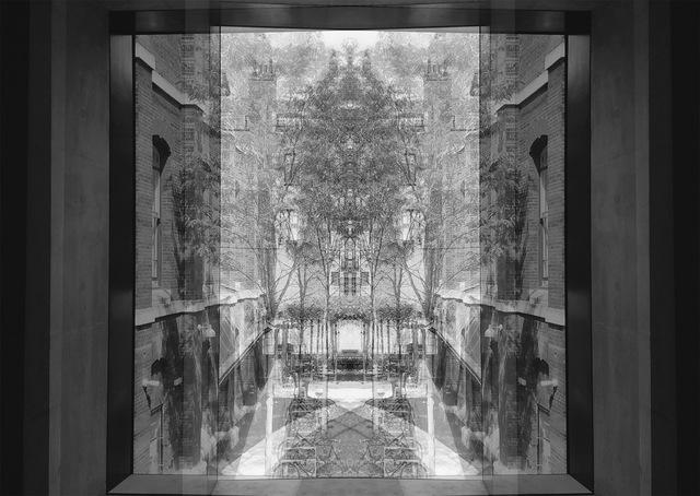 , 'Courtyard (RA), London,' 2018, Barnard