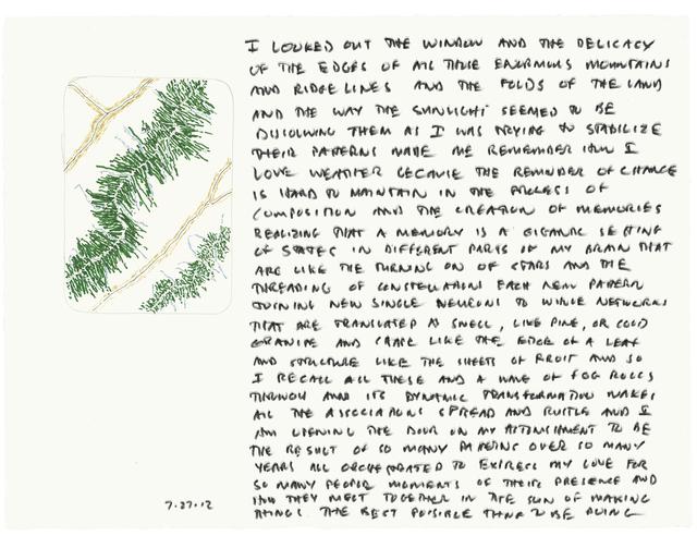 , '7.27.12,' 2012, Ronald Feldman Gallery