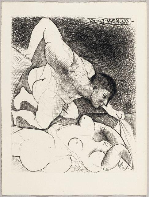 Pablo Picasso, 'Homme dévoilant une femme', 1931, Koller Auctions