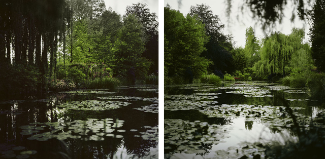 , 'Fullmoon@Giverny (Diptych),' 2011, Alfonso Artiaco