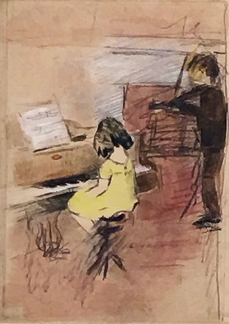 , 'The Young Musicians,' ca. 1920, Lawrence Fine Art