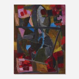 Bruno Cassinari, 'Composition,' 1956, Wright: Art + Design (February 2017)