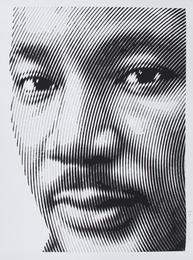 Mr. Brainwash, 'King,' 2017, Julien's Street Art Now (February 2017)