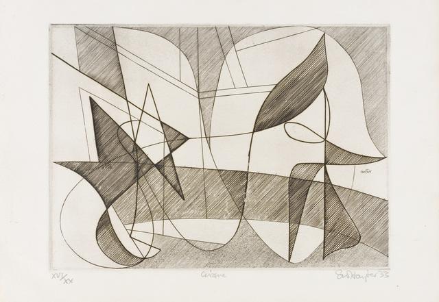 , 'Cirque,' 1933, Redfern Gallery Ltd.