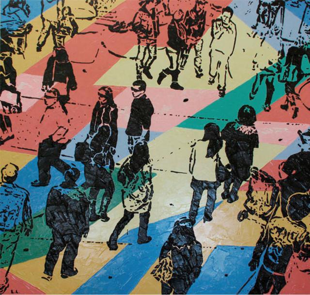 , 'Metropolis ,' 2011, Walter Wickiser Gallery