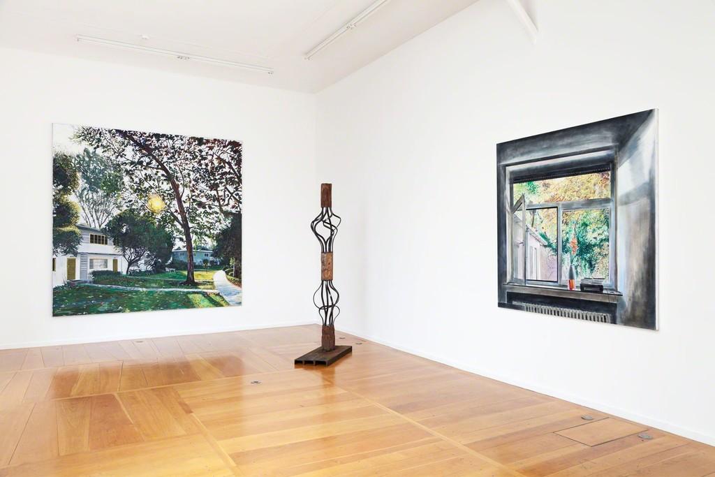 Echoing Trees, exhibition view, Xippas Paris, 2019. Photo: Frédéric Lanternier.
