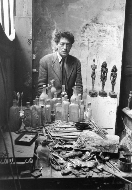 Sabine Weiss, 'Giacometti', 1954, Holden Luntz Gallery