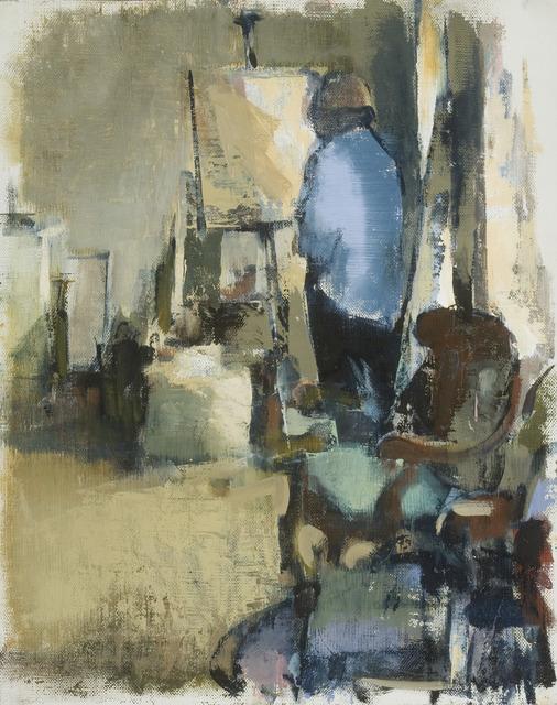 , 'Figure in Studio III,' 2009, Susan Calloway Fine Arts