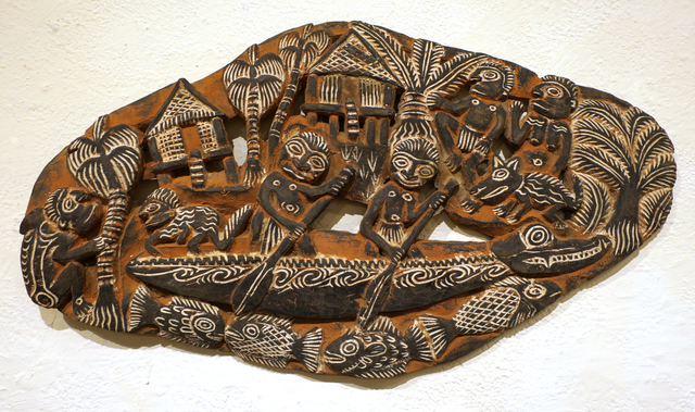 Papua New Guinea Tribal Art, 'Storyboard 14', 1960-1995, Etherton Gallery