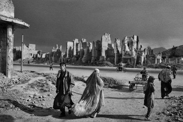 Sebastião Salgado, 'The once-prestigious Jade Maiwan Avenue. Kabul, Afghanistan', 1996, Sundaram Tagore Gallery