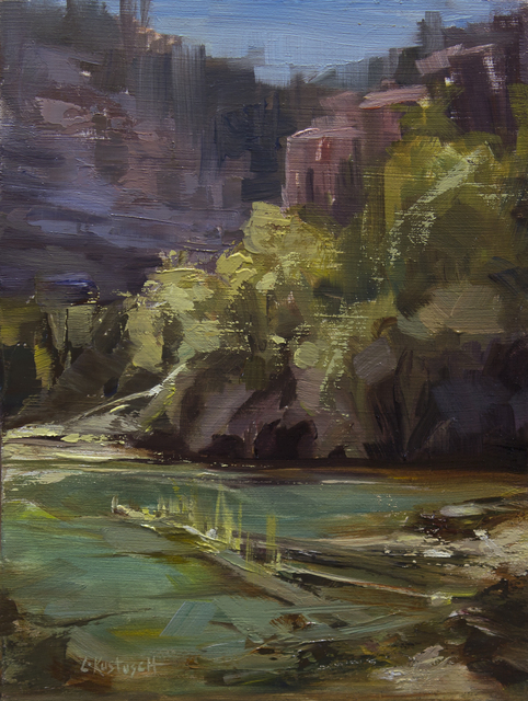 , 'Plein air at Emerald Lake,' 2018, Abend Gallery