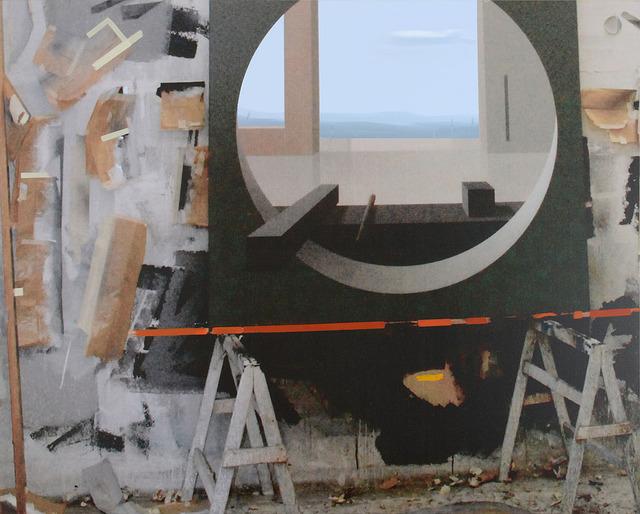 , 'Raum 1261 Floß (Atelier-Interieur),' 2015, Galerie Hans Mayer