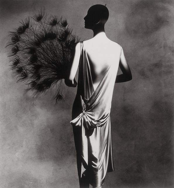Irving Penn, 'Vionnet Dress with Fan', 1974, Bruce Silverstein Gallery