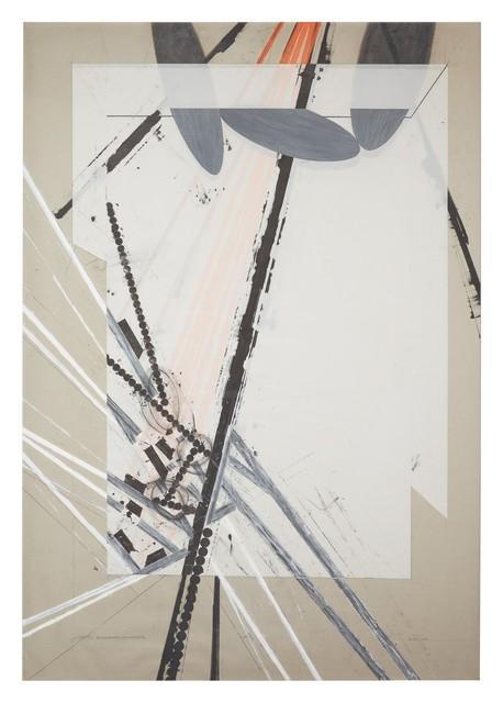 , 'Installation Study - Expanding Foundations: Eliminating Foundations,' 1979, David Nolan Gallery