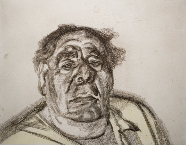 , 'Lord Goodman in his Yellow Pyjamas,' 1987, Ben Uri Gallery and Museum