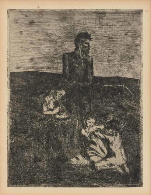 Pablo Picasso, 'LES PAUVRES (BLOCH 3)', 1905, Doyle
