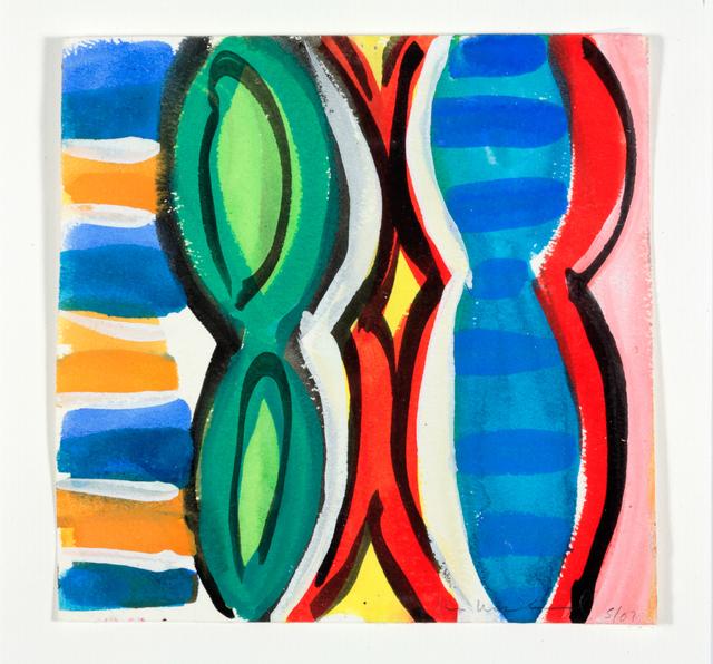 , 'Woman with Mirror. (Canvas #06),' 2007, Rosamund Felsen Gallery