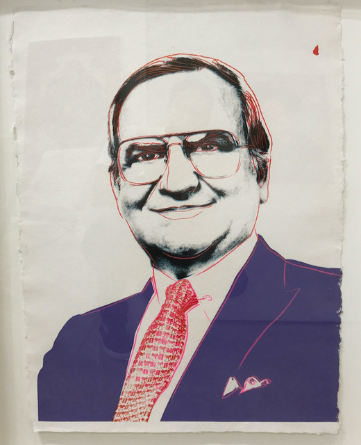 , 'Lee Iacocca,' 1985, Robert Fontaine Gallery