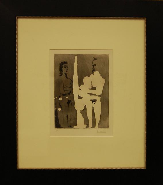 , 'Peintre Debout a son Chevalet, avec un Modele,' 1965, Baterbys Art Gallery