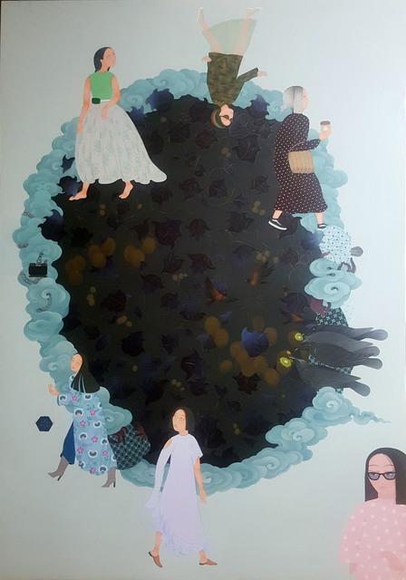 Uuriintuya Dagvasambuu, 'Untitled', 2020, Painting, Acrylic on canvas, Sapar Contemporary