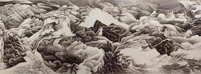 , 'Ink Handscroll 水墨画卷,' 1990, The Metropolitan Museum of Art