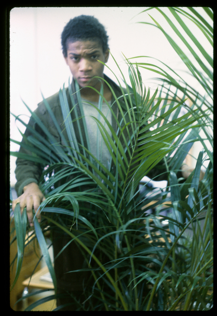 , 'Basquiat performing in the apartment,' ca. 1980, CaribBeing