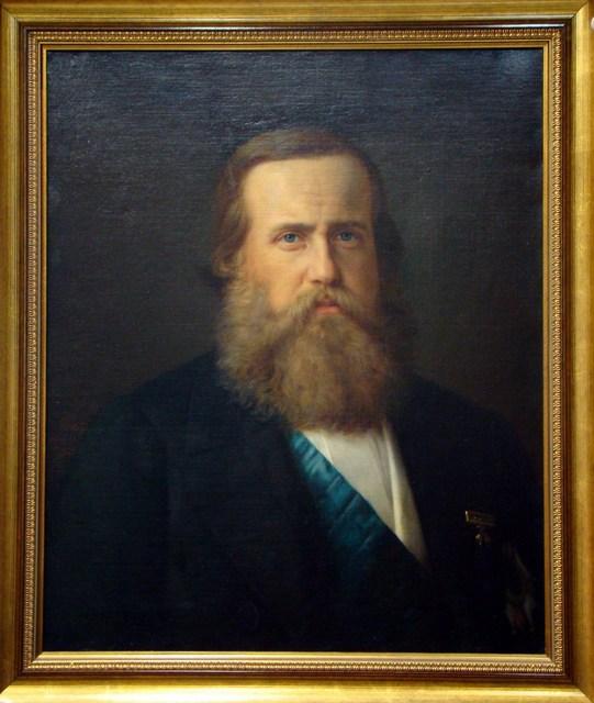 , 'RETRATO DE D. PEDRO II,' , Maurício Pontual Galeria de Arte