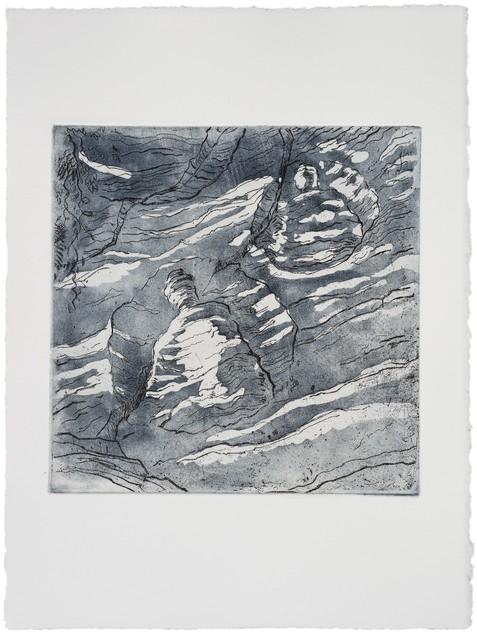 , 'Zen Moon wash,' 2013, Rén Space