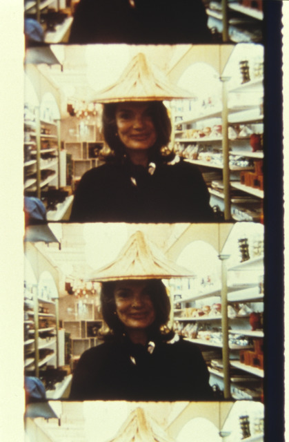 , 'Jackie Kennedy, Chinatown, NYC, April 27, 1972,' 2013, Deborah Colton Gallery