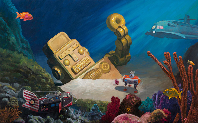, 'Davy Jones' Locker ,' , Corey Helford Gallery
