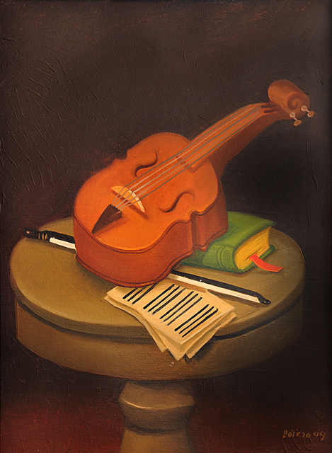 , 'Still life with Violin,' 2004, Contini Art Gallery