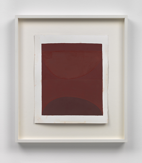 , 'embodiment of red, after DUST,' 2013, David Zwirner