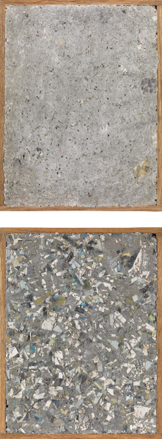 , 'Two works: I Can't See (Papercrete Edition),' 2011, André Viana