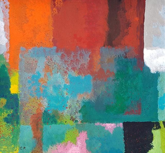 Carlos Pellicer, 'Mañana de verano', 2014, Drawing, Collage or other Work on Paper, Gouache on paper, Aldama Fine Art