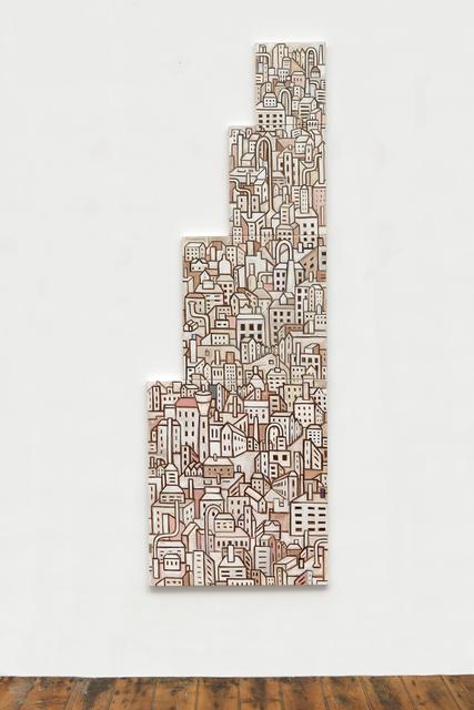 , 'Tall Buildings II,' 2017, Charles Nodrum Gallery