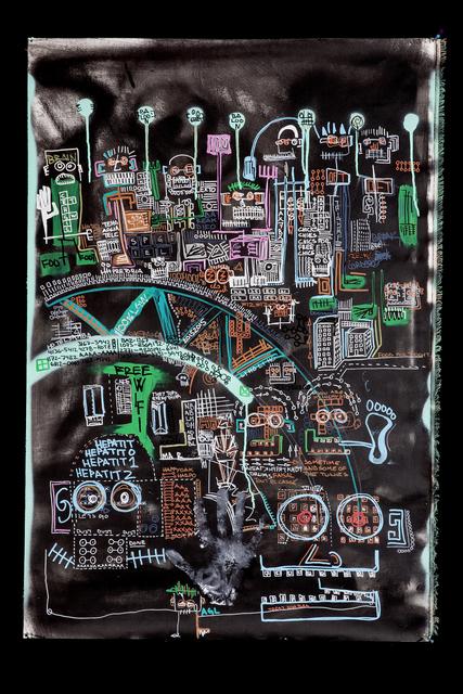 , 'Favela Skyline,' 2015, Galleri Duerr