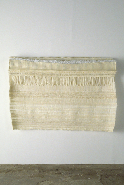 , 'Sheet With Ribbing and Trough,' 2003, Lesley Heller Gallery