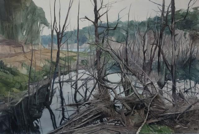 , 'Savage Pond III Study,' 2017, Nanda\Hobbs