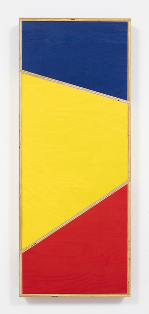 , 'Transitional Geometry in Red, Yellow and Blue (Figure 33),' 2016, Steve Turner