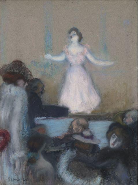 , 'Cabaret in Paris,' ca. 1904, Artur Ramon Art