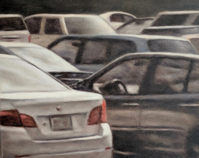 , 'Parking Lot 5,' 2014, Emerge Gallery NY
